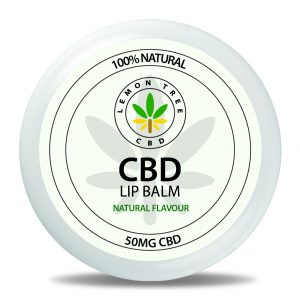 100% Natural CBD Lip Balm