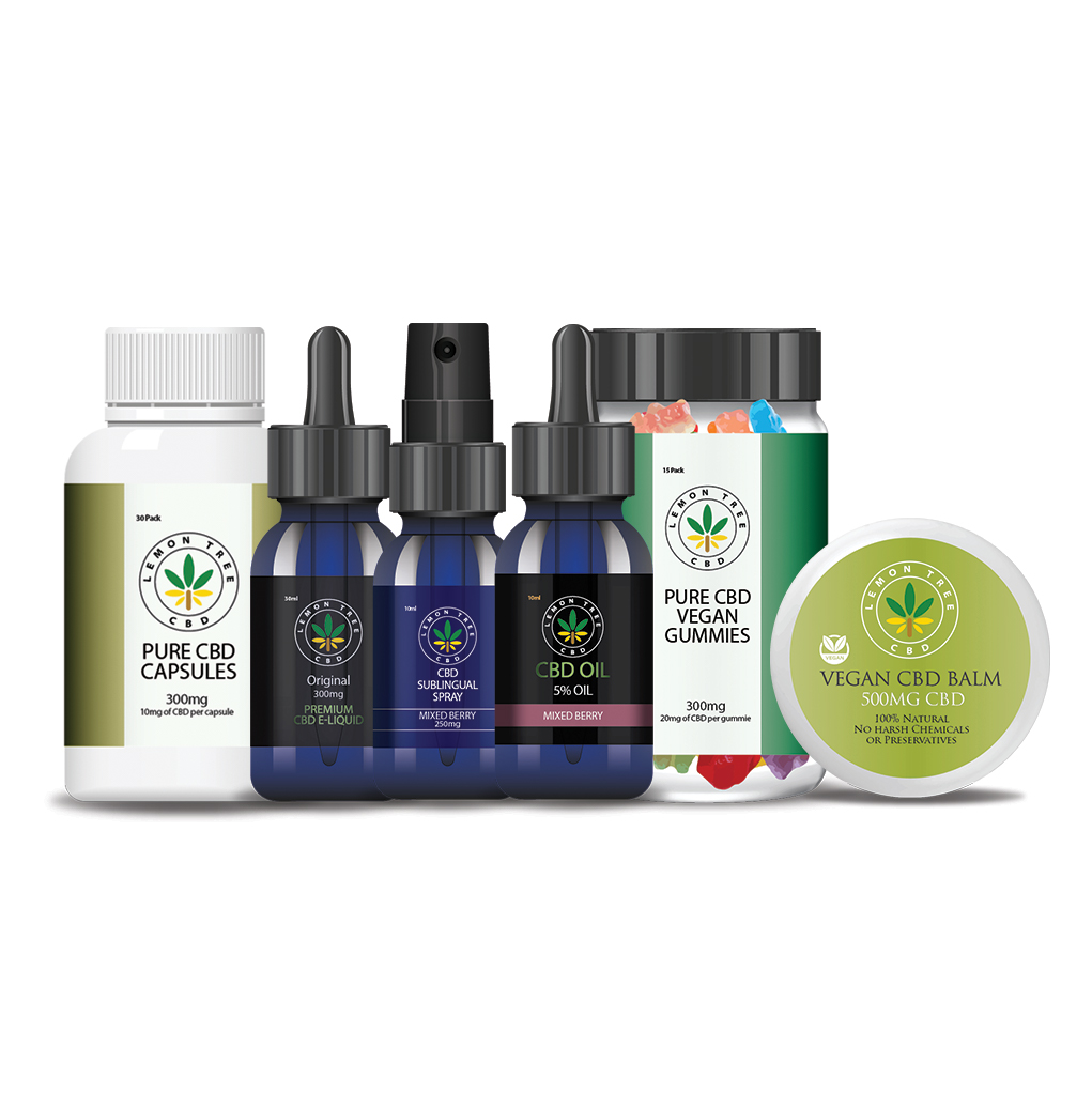 Lemon Tree CBD Range